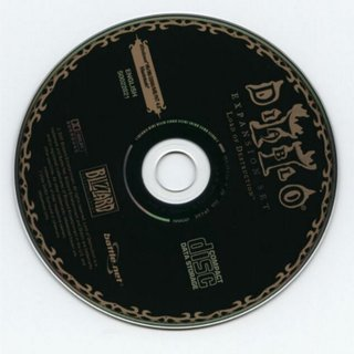 Diablo 2 lord of destruction cd-